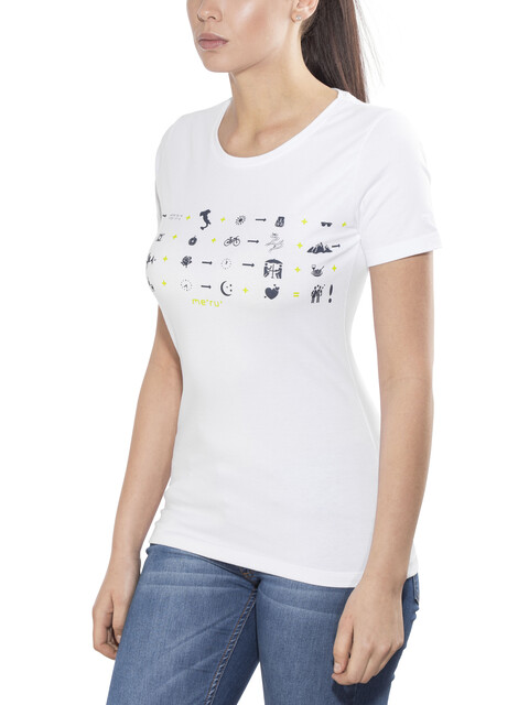 Meru Beziers - T-shirt manches courtes Femme - blanc
